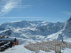ски курорт Франция