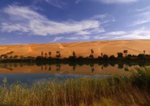 Убари в Либия
