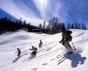 История на ските