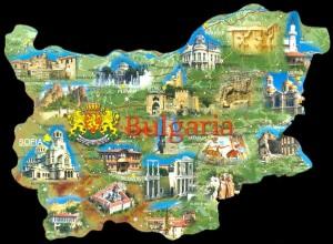 карта на България