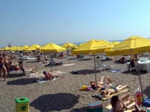централен плаж в Бургас