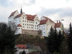 Замъка Колдиц в Германия