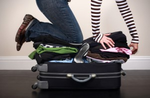 багаж преди пътуване