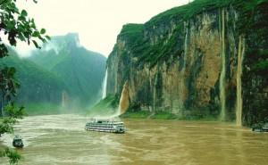 Река Яндзъ в Китай
