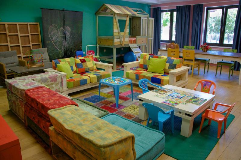 детски кът в хотел Каза Арт